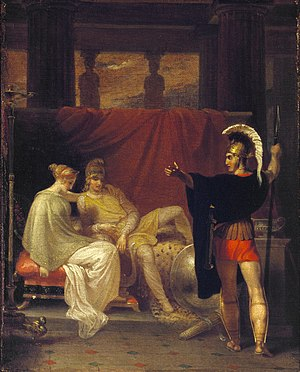 Richard Cook (artist 1784–1857) - Hector reproving Paris, 1808