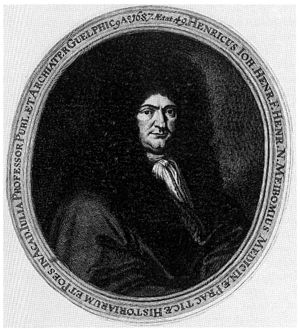 Heinrich Meibom (doctor) - Image: Heinrich Meibom d J