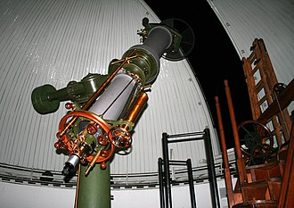 Heliometer - Heliometer at the Kuffner observatory (Vienna, Austria)