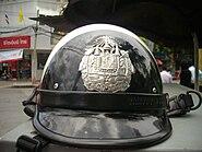 Helmet for Thai traffic police