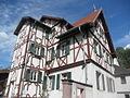 Hemsbach trabfaka domo Mittelgasse-Rittergasse.JPG