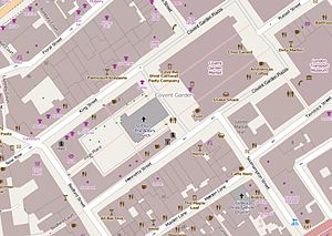 Henrietta Street, Covent Garden - The immediate vicinity of Henrietta Street today