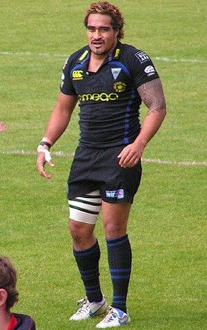 Henry Fa'afili - Fa'afili while playing for Warrington in 2007.