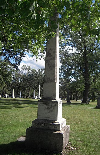 Henry Hastings Sibley - Image: Henry Hastings Sibley Family Grave