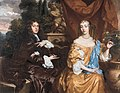 Henry Hyde, Viscount Cornbury, later 2nd Earl of Clarendon (1688–1709) and his wife, Theodosia Capel, Viscountess Cornbury, by Peter Lely.jpg