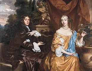 Portrait of Henry Hyde, Viscount Cornbury, later 2nd Earl of Clarendon (1688–1709) and his wife, Theodosia Capel, Viscountess Cornbury