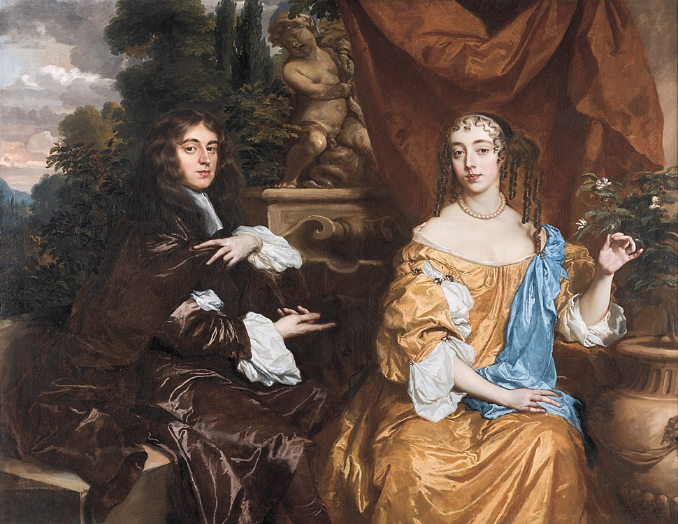 Henry Hyde, Viscount Cornbury, later 2nd Earl of Clarendon (1688–1709) and his wife, Theodosia Capel, Viscountess Cornbury, by Peter Lely