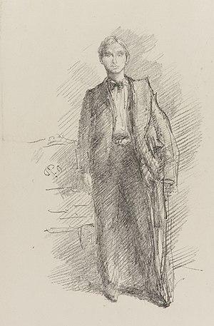 Herbert Charles Pollitt - Whistler's lithograph of Pollitt, 1896