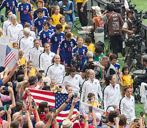 Japan women's national football team - The national teams of Japan and United States at the 2015 FIFA Women's World Cup