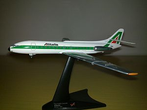 Herpa - Sud Aviation Caravelle in Alitalia livery