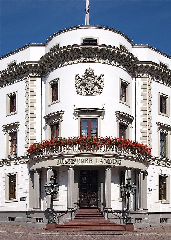 Hessischer Landtag Stadtschloss Wiesbaden