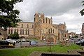 Hexham Abbey from side - geograph.org.uk - 1399233.jpg
