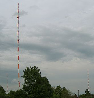 Transmitter Hamburg-Billstedt - With its 304m it is the highest structure in Hamburg