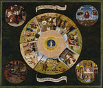 Hieronymus Bosch - The Seven Deadly Sins and the Four Last Things
