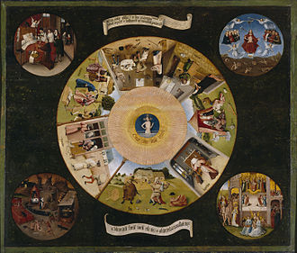The Seven Deadly Sins and the Four Last Things - Image: Hieronymus Bosch The Seven Deadly Sins and the Four Last Things