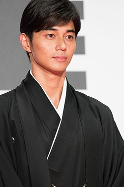 "Higashide Masahiro from ""Satoshi- A Move for Tomorrow"" at Opening Ceremony of the Tokyo International Film Festival 2016 (32831024483).jpg"