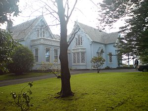 Newmarket, New Zealand - Highwic house, former homestead, now a function venue at the southwestern edge of Newmarket.
