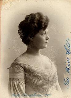 Hilda Borgström Swedish actress