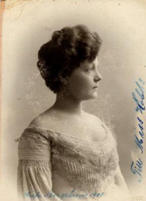 Hilda Borgström - Hilda Borgström in 1901