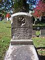 Hill (Illegible 2), Lebanon Church Cemetery, 2015-10-23, 01.jpg