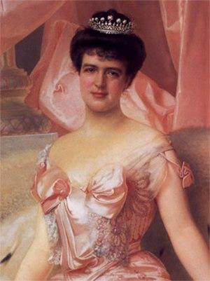 Amélie of Orléans - Portrait by Vittorio Matteo Corcos (1905)