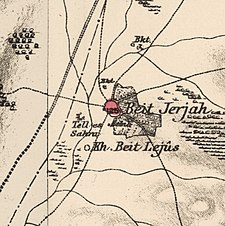 Historical map series for the area of Bayt Jirja (1870s).jpg