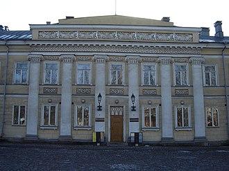 Old Great Square (Turku) - Hjelt Mansion