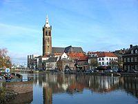 Hochwasser auf Maas und Rur in Roermond.jpg