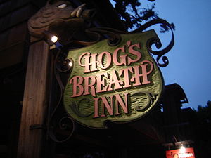 Personal life of Clint Eastwood - The Hog's Breath Inn in Carmel, once owned by Eastwood