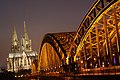 Hohenzollernbrücke, Köln, Germany (6343792394).jpg