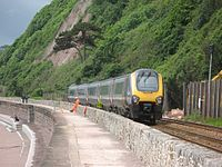 Holcombe 2012 landslip - CrossCountry 221142 passing slowly.jpg