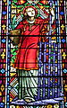 Holy Cross-Immaculata Church (Cincinnati, Ohio) - stained glass, Saint Lawrence.jpg