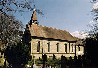 West End, Surrey - Holy Trinity Church, consecrated 1842
