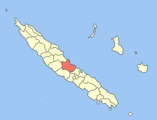 Houaïlou Commune in New Caledonia, France