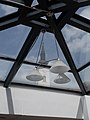 House of Culture, Parish Church tower through the skylight, 2019 Heves.jpg