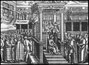 Hugh Latimer Preaching to Edward VI