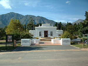 Huguenots in South Africa - The Huguenot Museum in Franschhoek.