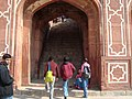 Humayun's Tomb - Entrance to the platform of main tomb.jpg