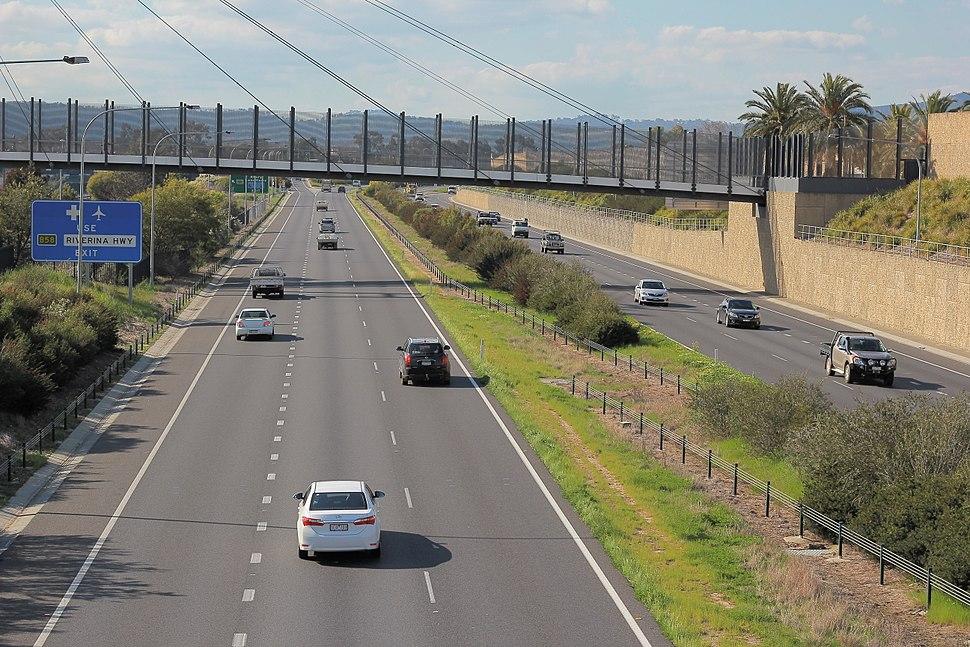 Hume Freeway at Albury 1