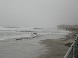 Effects of Hurricane Isabel in New Jersey - Image: Hurricane Isabel Waves