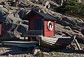 Hut with lifebuoy and skiff at Loddebo.jpg