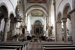 Huysburg - Church interior