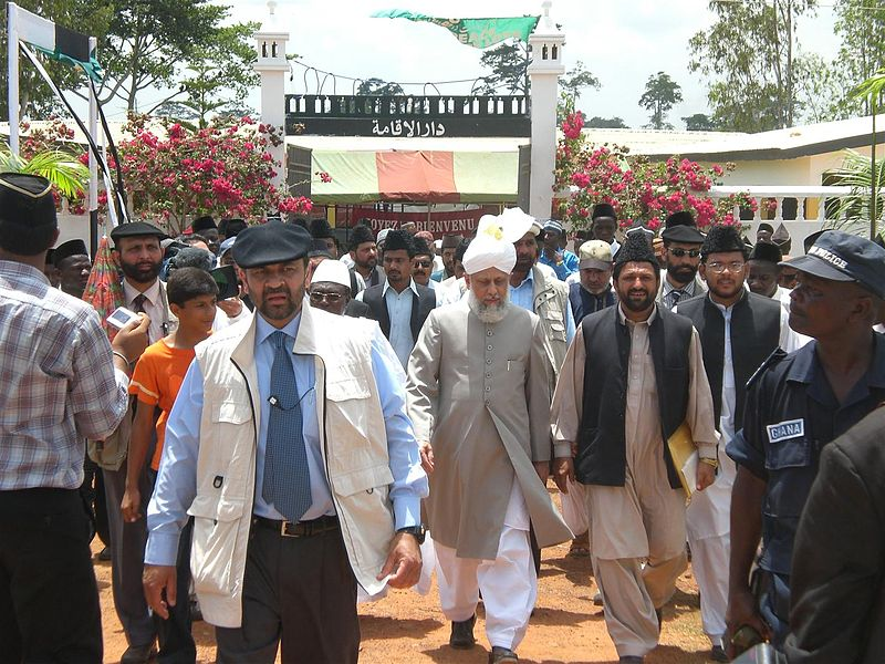 File:Huzoor's visit to Jamiatul Mubshireen in 2008.JPG