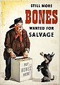 INF3-217 Salvage Still more bones needed for salvage (rag and bone man with dog) Artist Gilroy.jpg