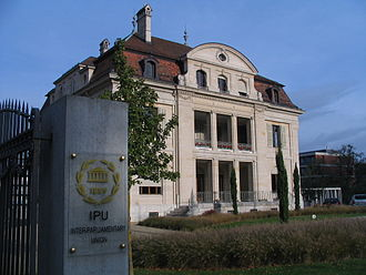 Inter-Parliamentary Union - Headquarters of the IPU in Geneva (2010)