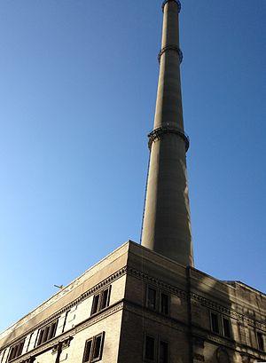 IRT Powerhouse - The smokestack of the IRT Powerhouse