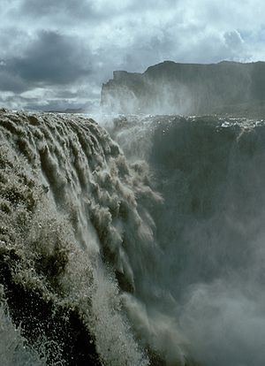 Dettifoss in Iceland (1972)