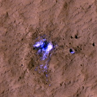 Mars Scout Program - Image: Icy Crater on Mars ESP 016954 2245 subimage 2
