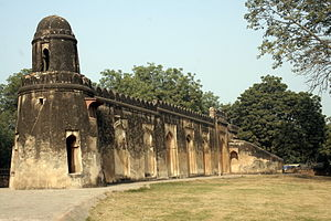 Eidgah - 14th-century Idgah, built during Tughlaq dynasty rule in Delhi