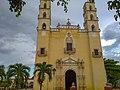 Iglesia de Chemax Yucatán. - panoramio.jpg